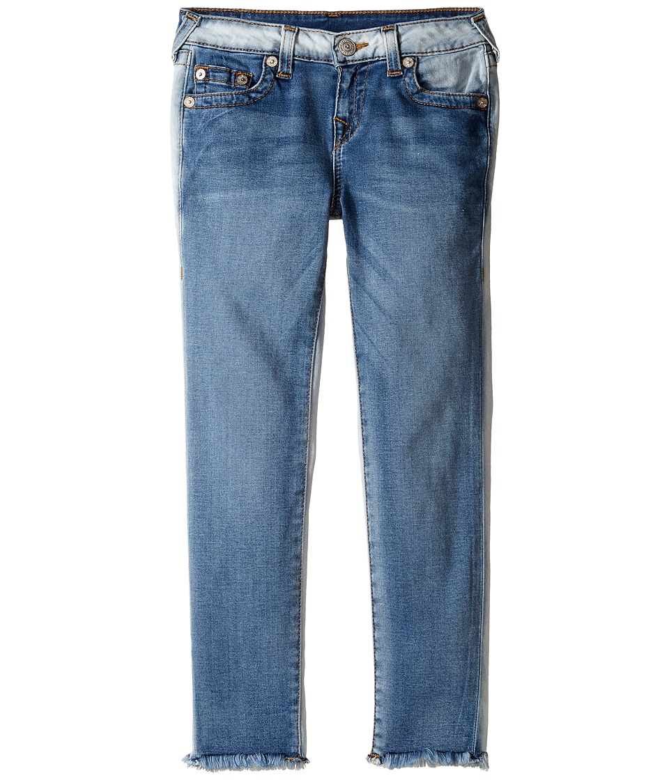 True Religion Kids - Casey Ankle Skinny in Side Car Blue (Big Kids) (Side Car Blue) Girl's Jeans
