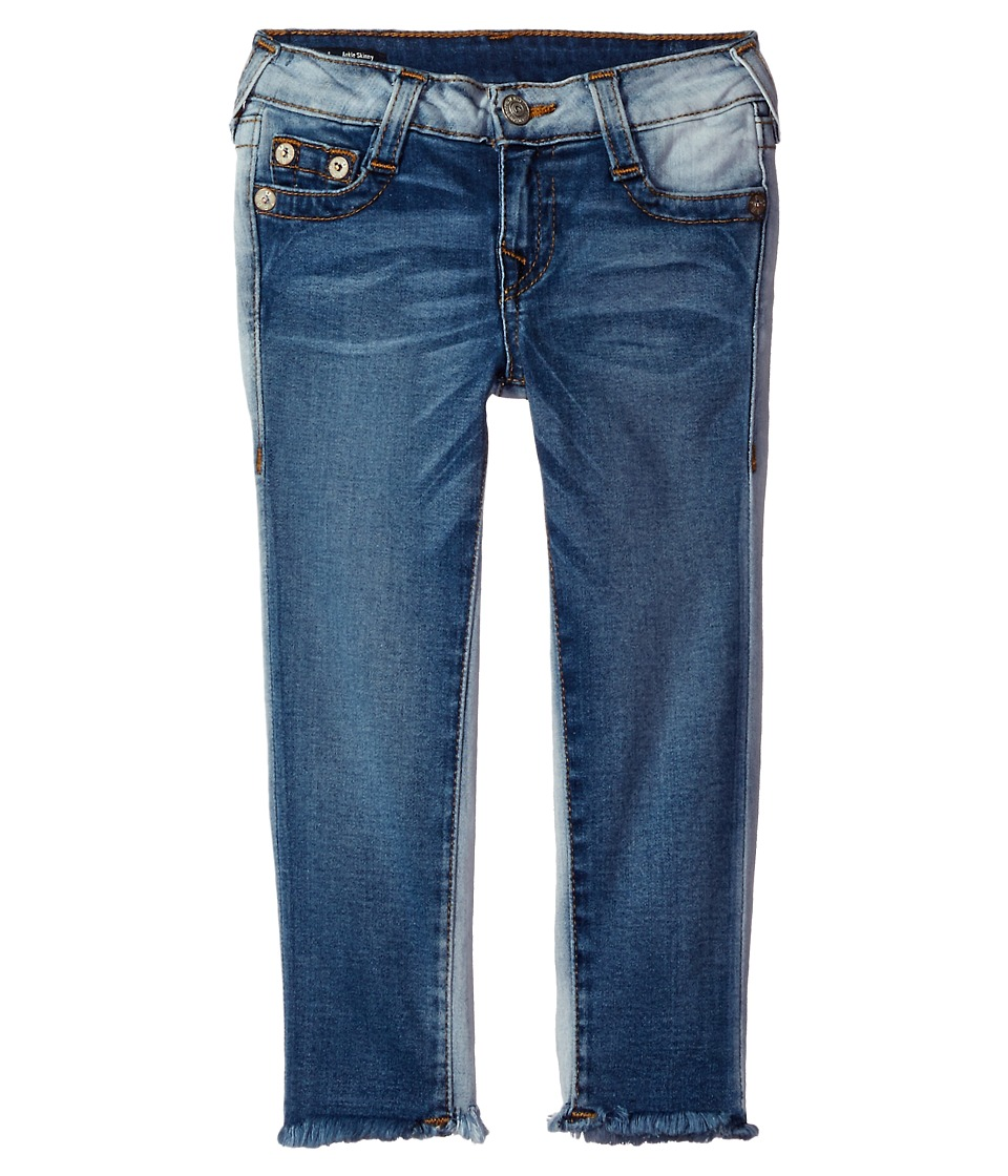 True Religion Kids - Casey Ankle Skinny in Side Car Blue (Toddler/Little Kids) (Side Car Blue) Girl's Jeans