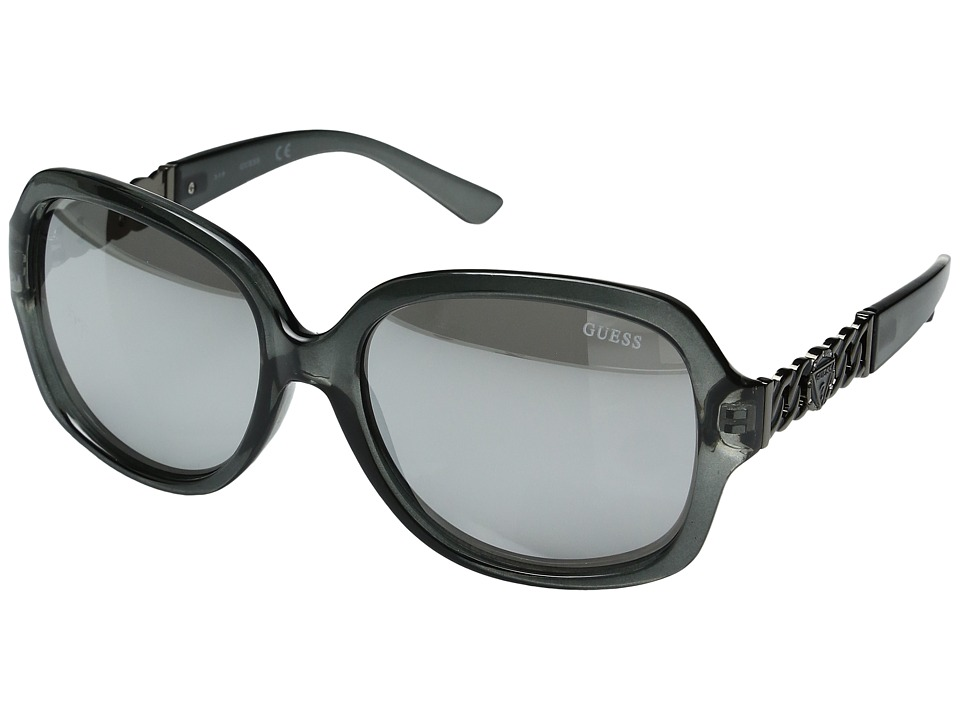 GUESS - GF0291 (Grey/Other/Smoke Mirror) Fashion Sunglasses