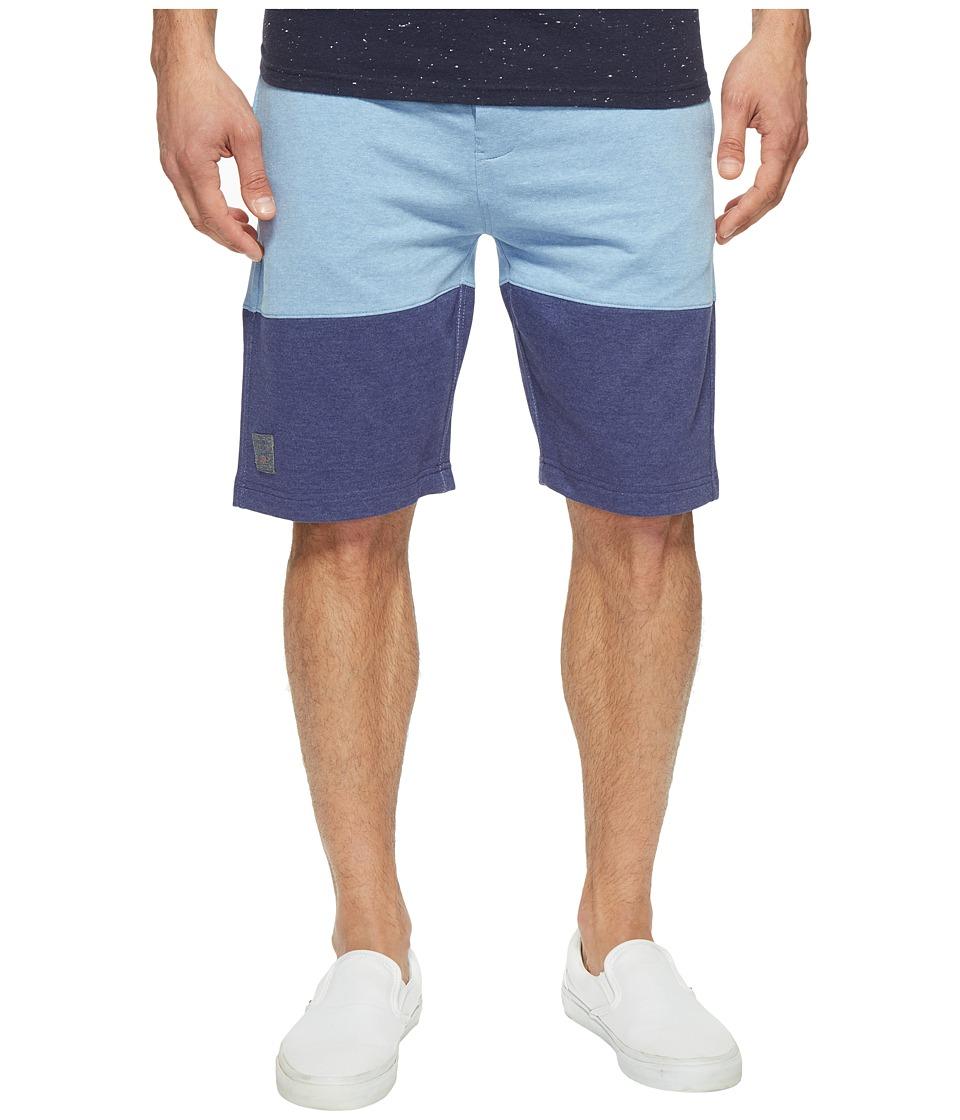 U.S. POLO ASSN. - Five-Pocket Denim Shorts (Placid Blue Heather) Men's Shorts