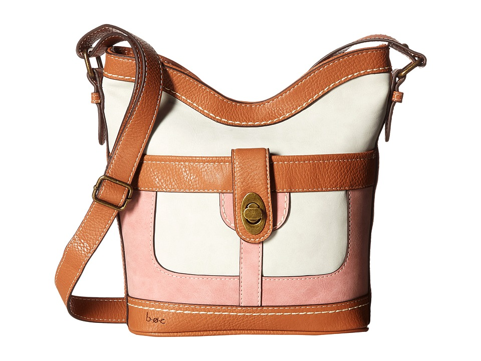 b.o.c. - Vandenburg Crossbody (Bone/Shell Pink) Cross Body Handbags