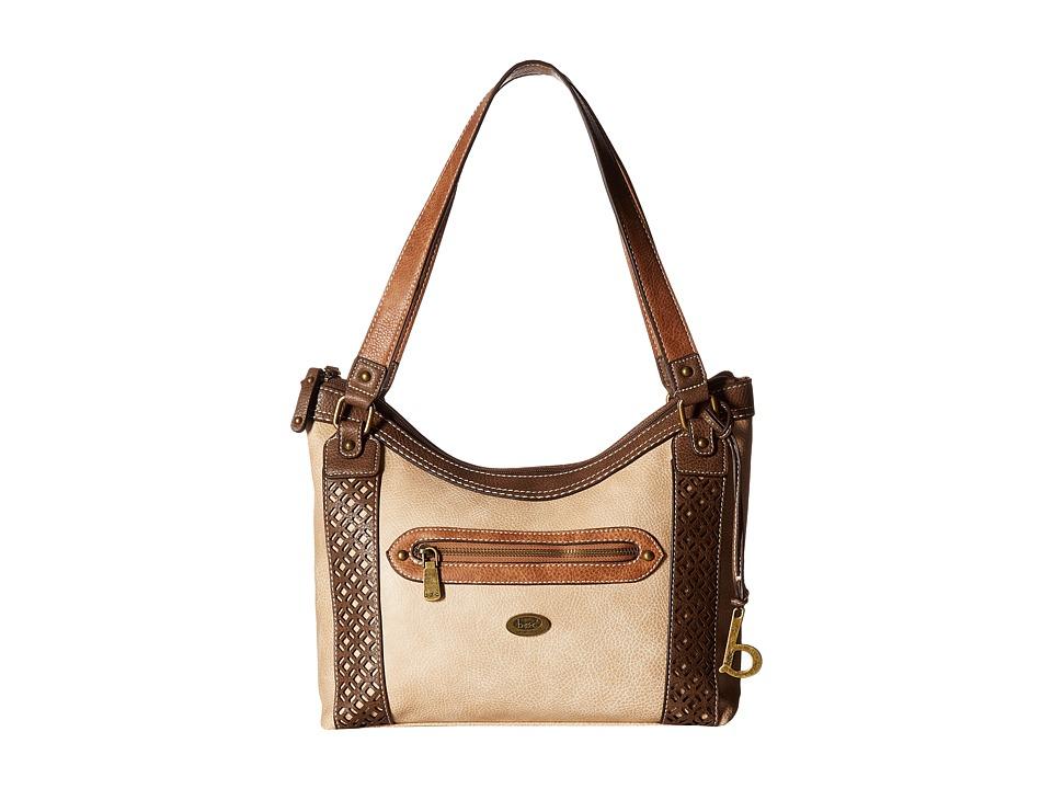 b.o.c. - Mannerton Tote (Stone/Choco/Saddle) Tote Handbags