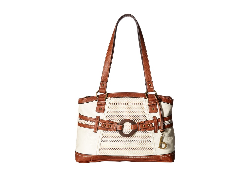 b.o.c. - Nayarit Blanket Stripe Tote (Bone/Straw/Saddle) Tote Handbags
