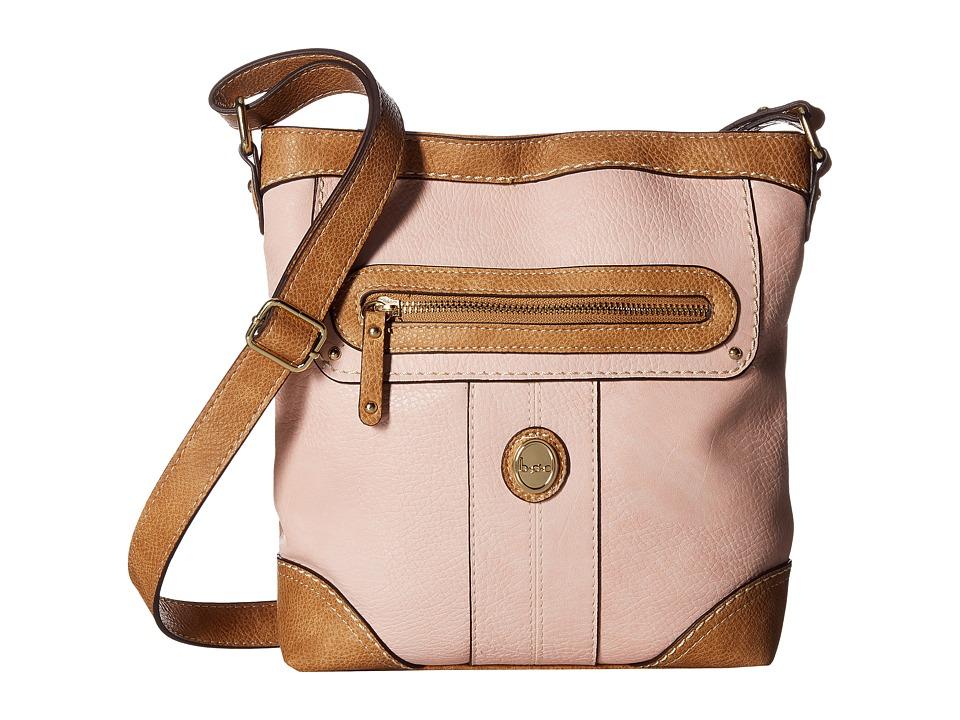 b.o.c. - Mcallister Crossbody (Blush) Cross Body Handbags