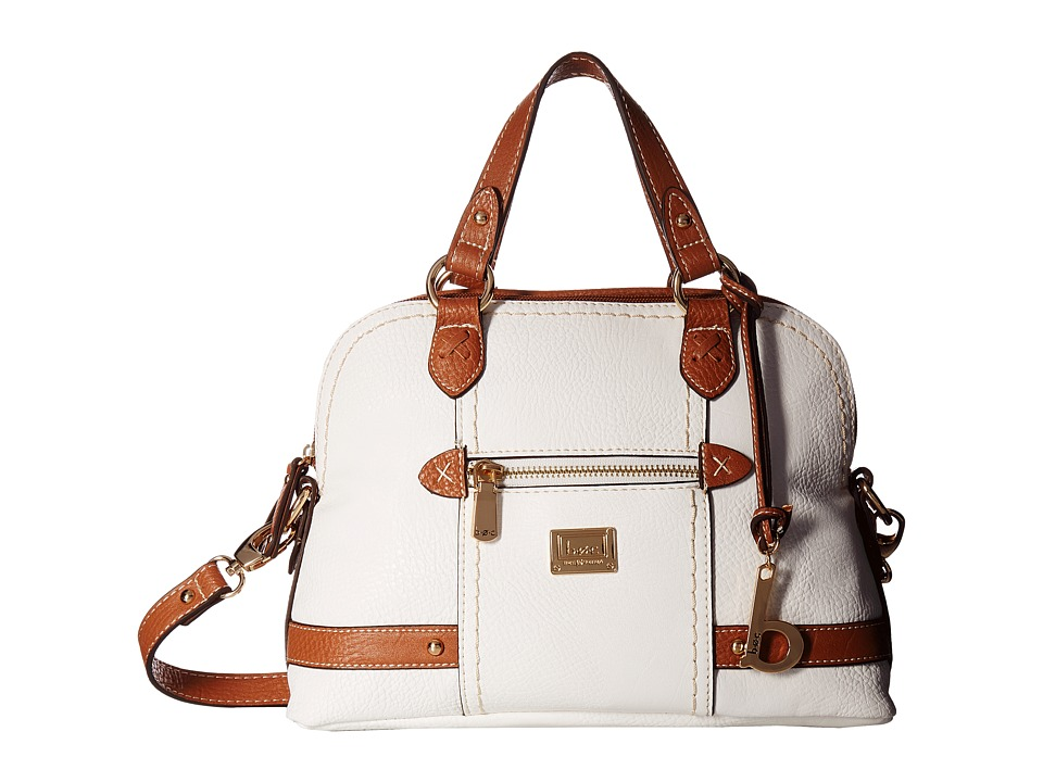 b.o.c. - Beechwood Satchel (White/Saddle) Satchel Handbags