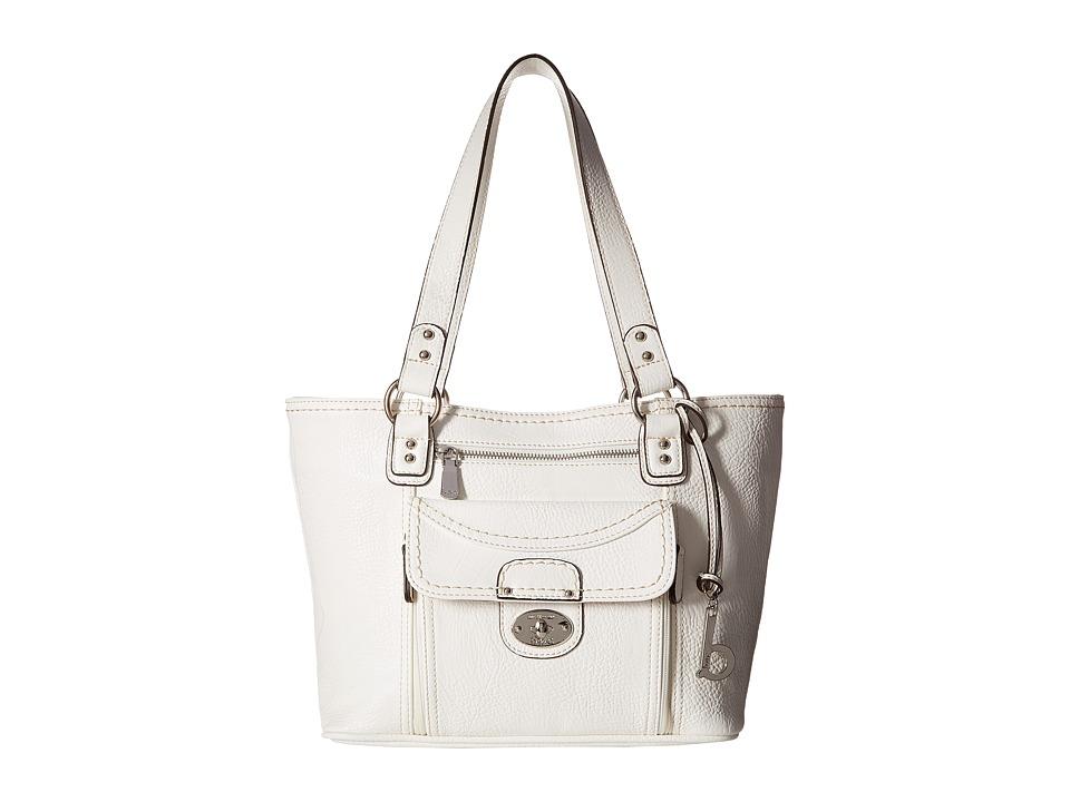 b.o.c. - Waltham Tote (White) Tote Handbags