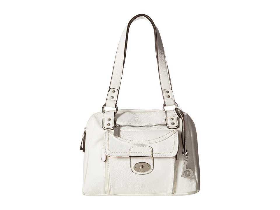 b.o.c. - Waltham Satchel (White) Satchel Handbags