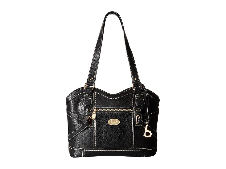 b.o.c. - Parkslope Vinyl Tote (Black) Tote Handbags