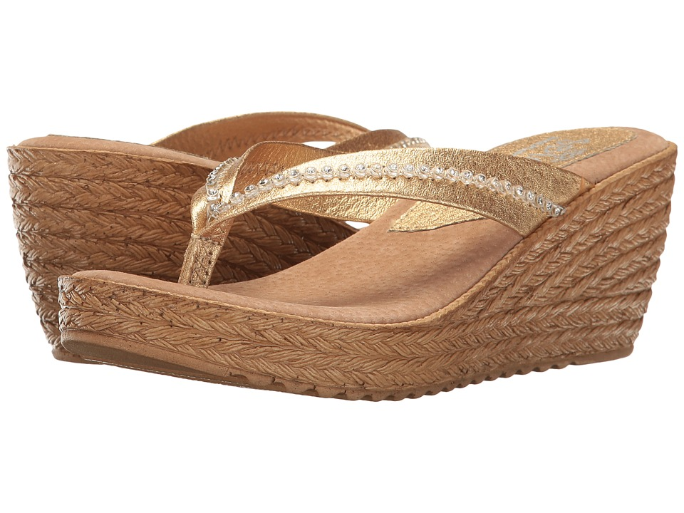 Sbicca - Zippa (Gold) Women's Shoes