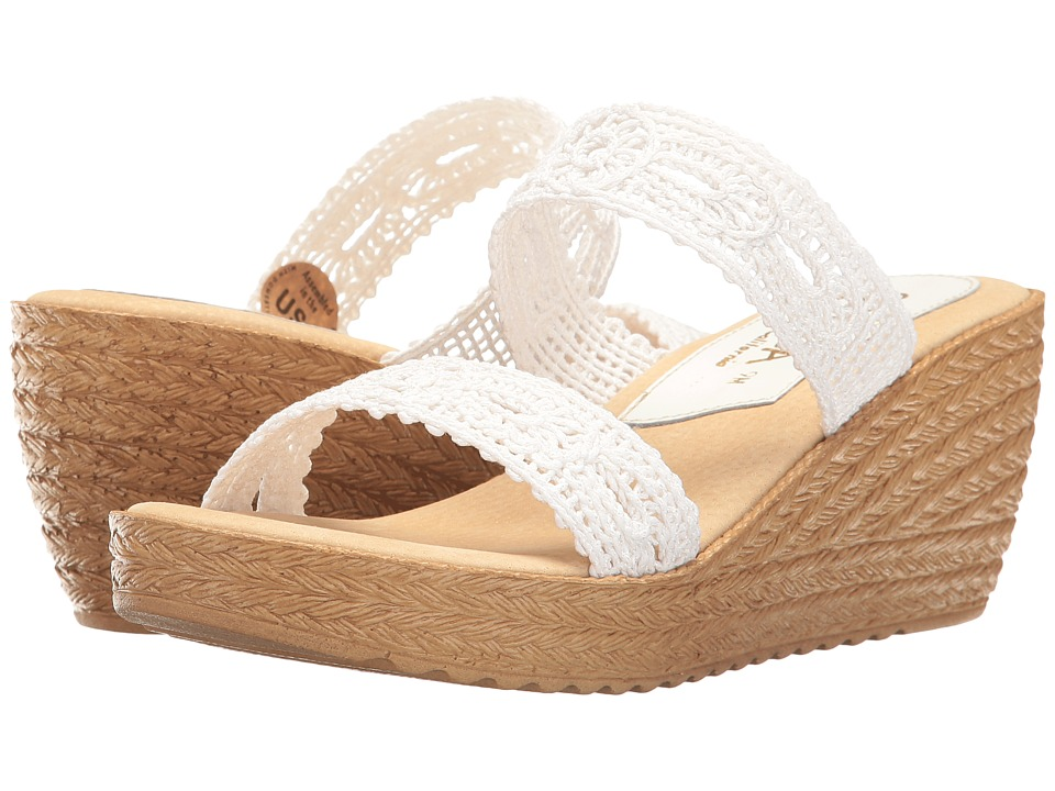 Sbicca - Tide (White) Women's Sandals