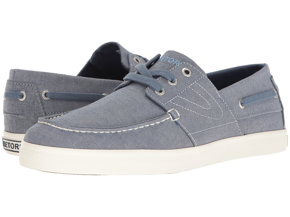 Tretorn - Motto (Blue Chambray) Men's Shoes