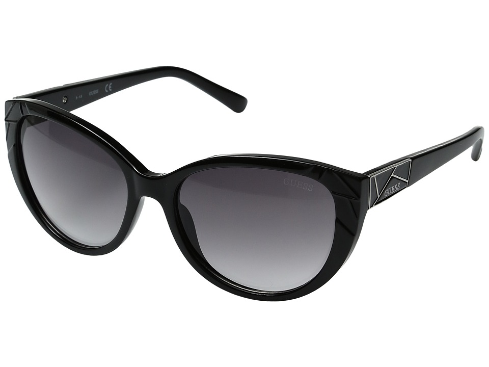 GUESS - GF0297 (Black/Other/Gradient Smoke) Fashion Sunglasses