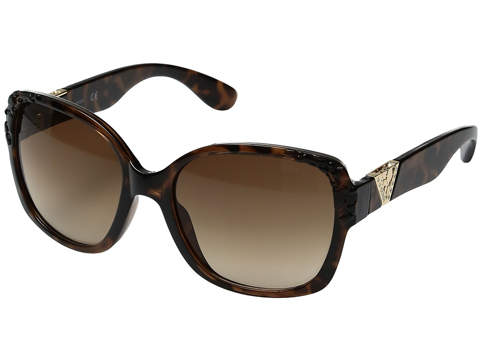 GUESS - GF0298 (Dark Havana/Gradient Brown) Fashion Sunglasses