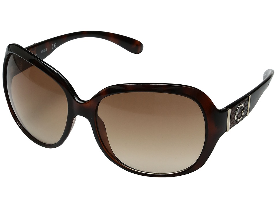 GUESS - GU0251F (Tortoise) Fashion Sunglasses