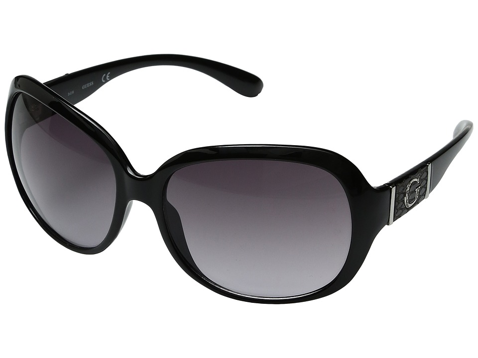 GUESS - GU0251F (Black) Fashion Sunglasses