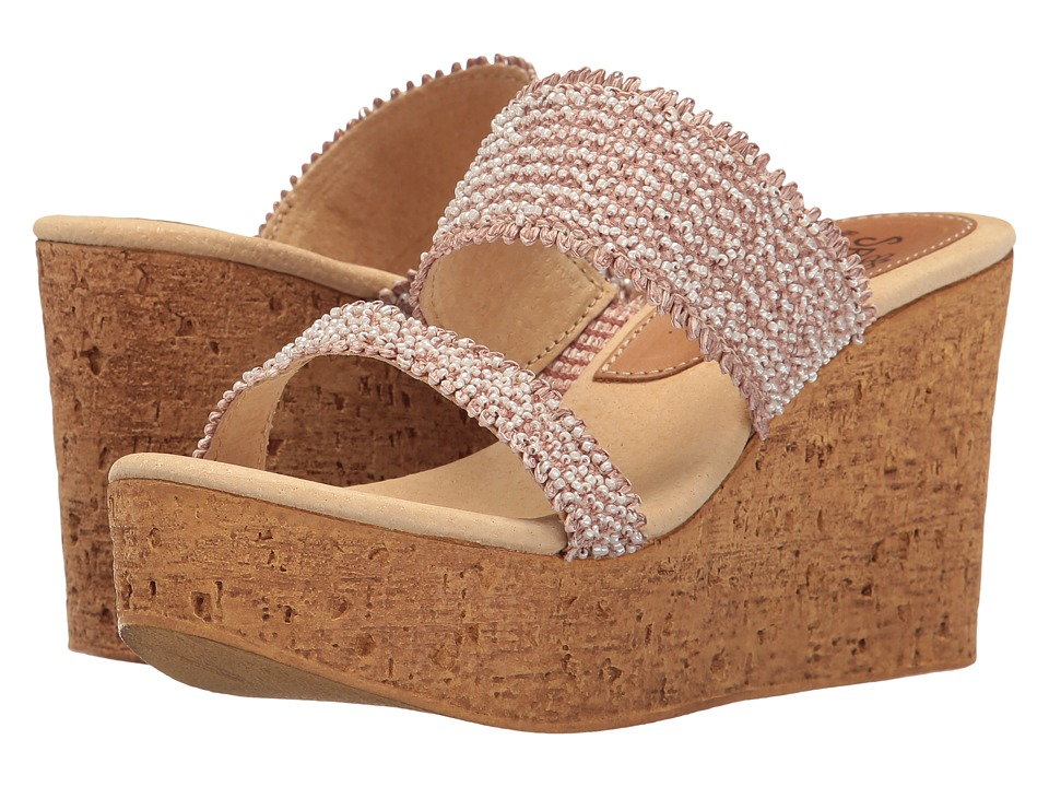 Sbicca - Moreno (Brown) Women's Wedge Shoes