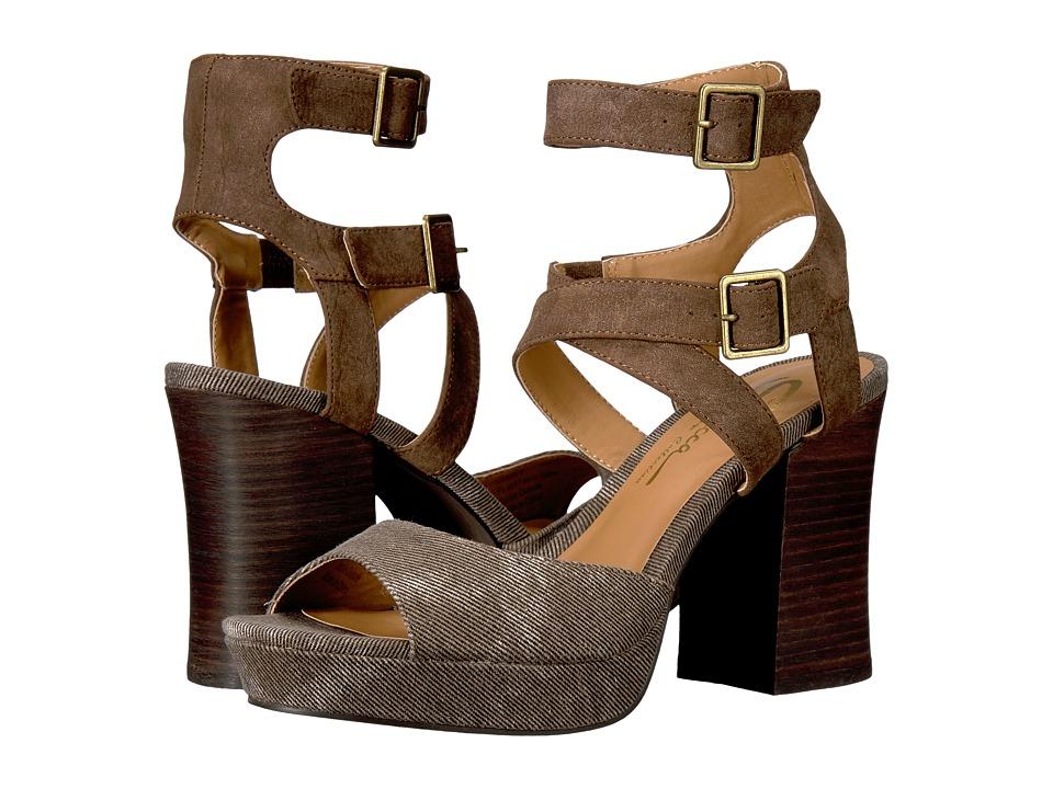 Sbicca - Gear (Brown) Women's Sandals