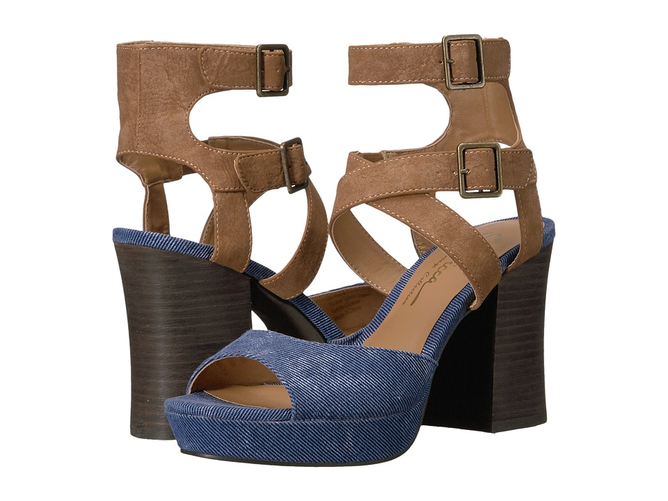 Sbicca - Gear (Denim) Women's Sandals