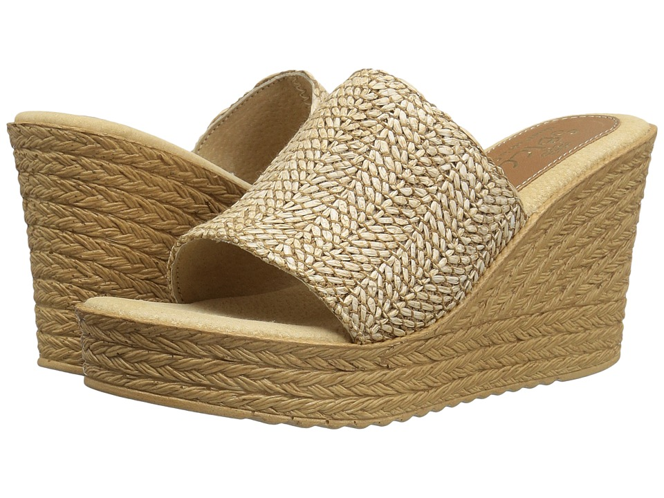 Sbicca - Mary (Natural) Women's Wedge Shoes