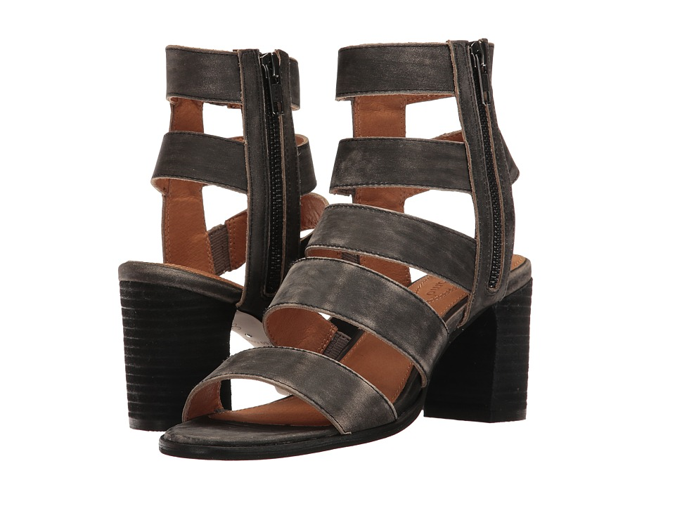 Corso Como - Elise (Black Worn Leather) Women's Sandals