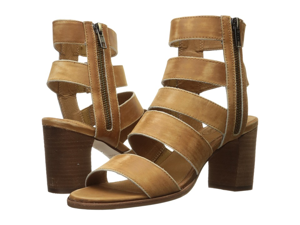 Corso Como - Elise (Camel Worn Leather) Women's Sandals