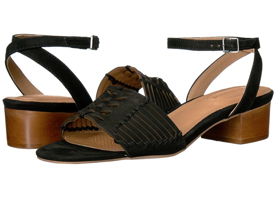 Corso Como - Bahamas (Black Nubuck) Women's Sandals