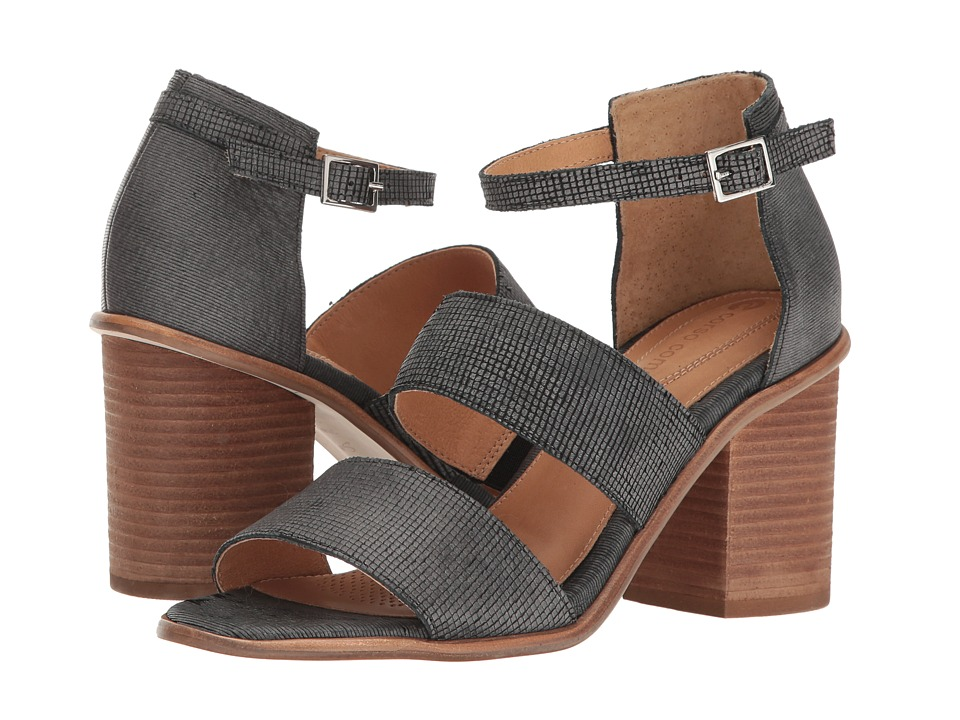 Corso Como Sus (Black Square Laser Leather/Black Stripe Laser Leather) Women