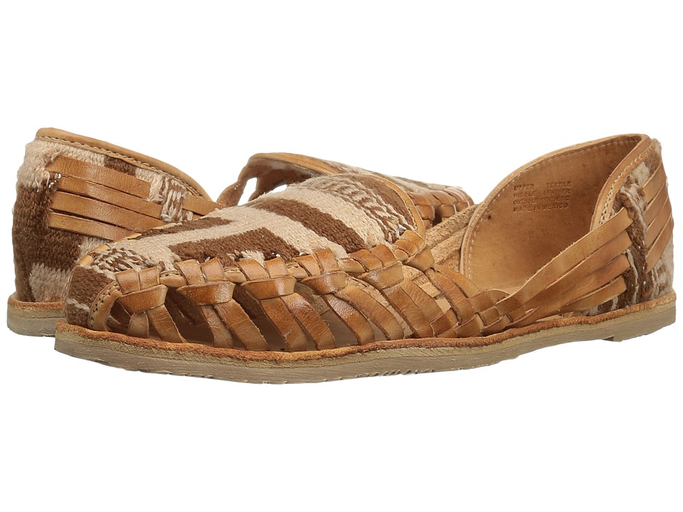 Sbicca - Rosa Maria (Tan/Multi) Women's Flat Shoes