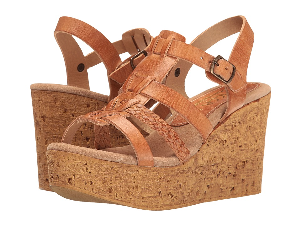 Sbicca - Pluto (Tan) Women's Wedge Shoes
