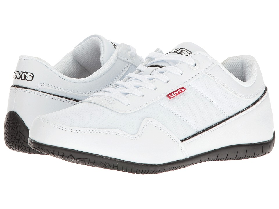 Levi's(r) Shoes - Rio Perf UL (White/Black) Men's Shoes