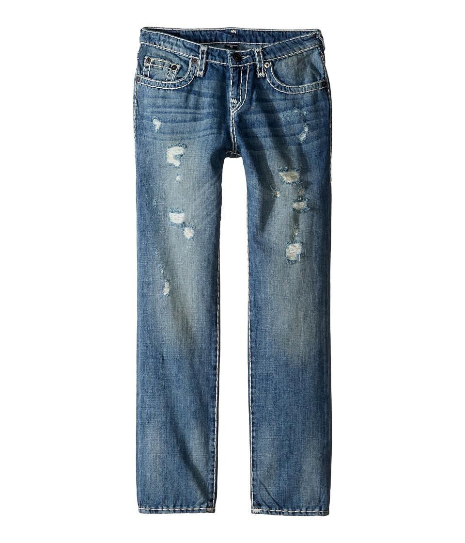 True Religion Kids - Geno Super T Jeans in Muddy Blue Wash (Big Kids) (Muddy Blue Wash) Boy's Jeans