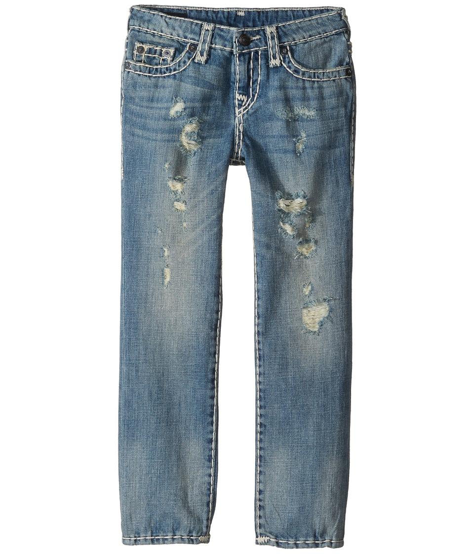True Religion Kids - Geno Super T Jeans in Muddy Blue Wash (Toddler/Little Kids) (Muddy Blue Wash) Boy's Jeans