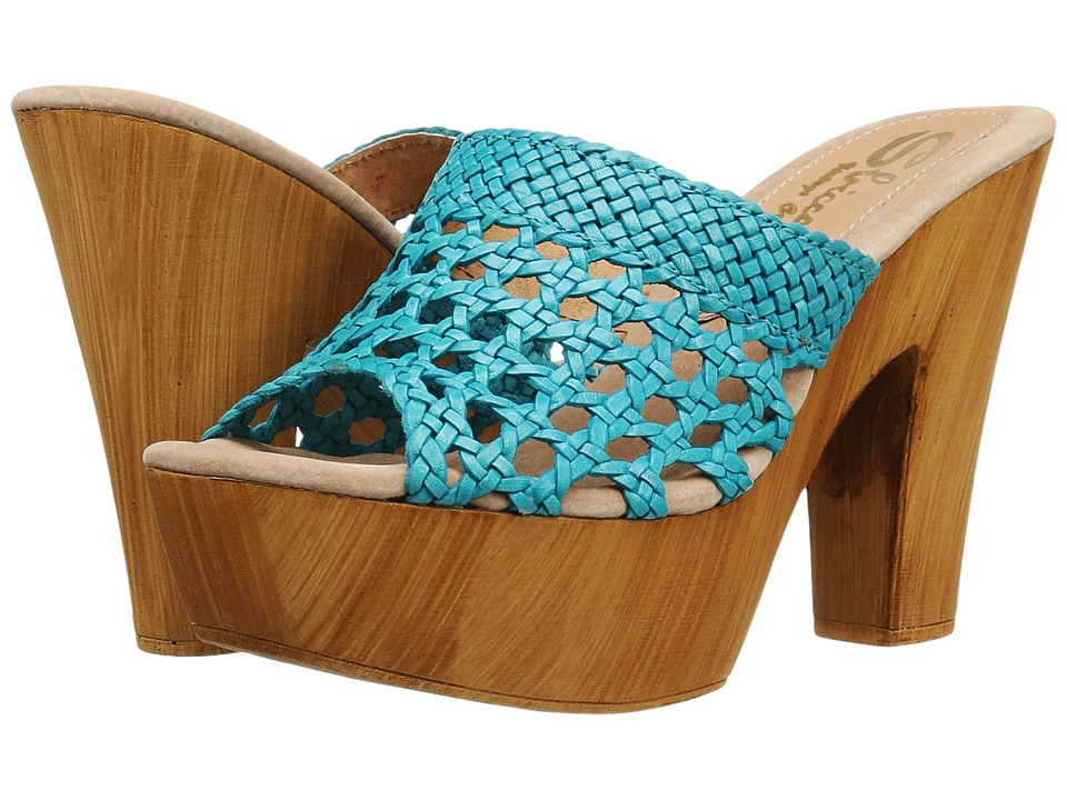 Sbicca Krissa (Turquoise) High Heels