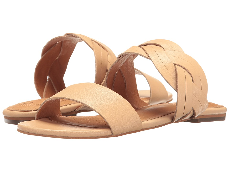 Corso Como - Sicily (Nude Brushed Leather) Women's Sandals