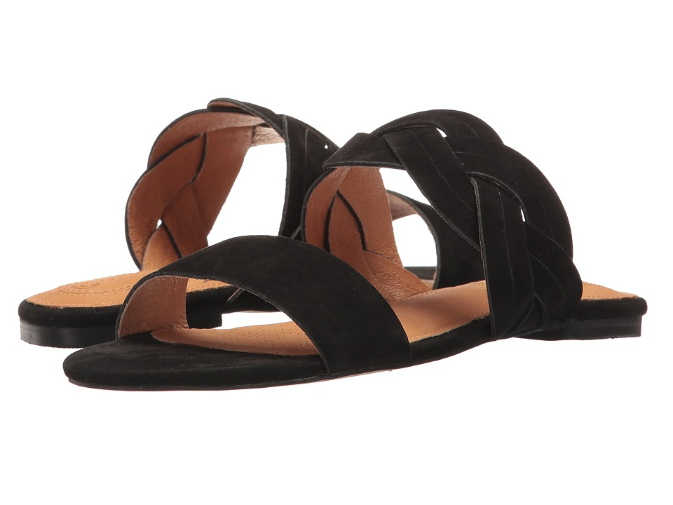 Corso Como - Sicily (Black Nubuck) Women's Sandals