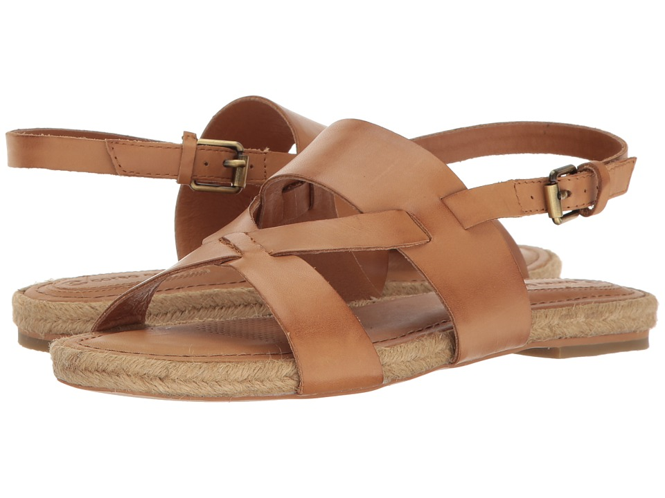 Corso Como - Pine Key (Camel Brushed Leather) Women's Sandals