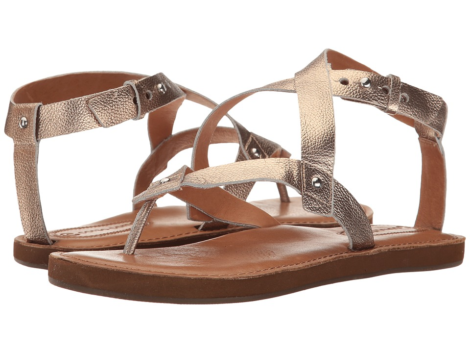 Corso Como - Spa (Champagne Soft Tumbled Metallic) Women's Sandals