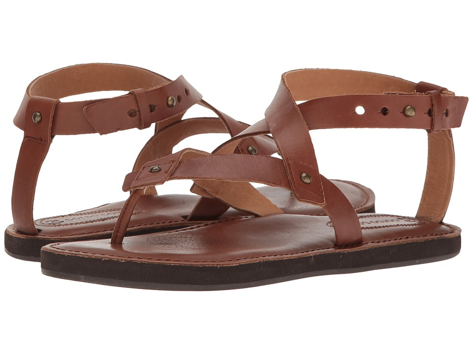 Corso Como - Spa (Brown Brushed Leather) Women's Sandals