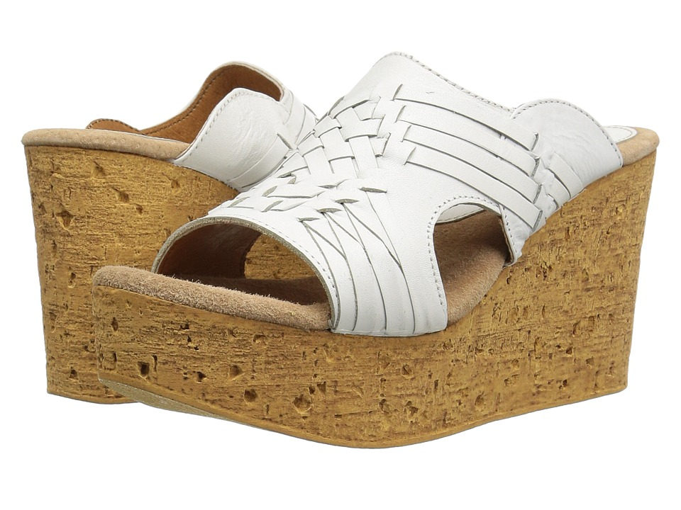 Sbicca - Manny (White) Women's Wedge Shoes