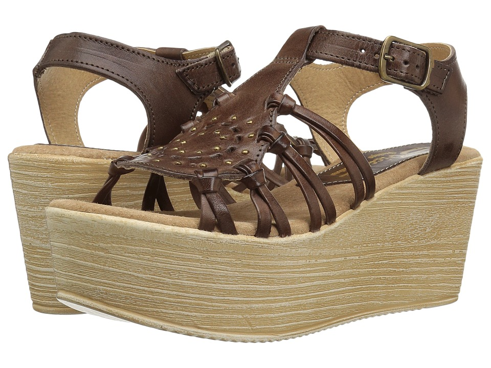 Sbicca - Jarrah (Brown) Women's Wedge Shoes
