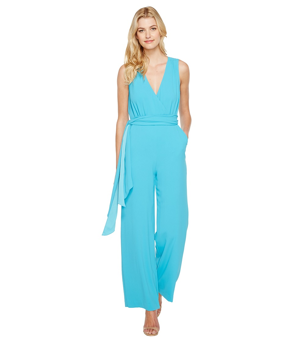 Trina Turk - Tiger Lily Jumpsuit (Skinny Dip) Women's Jumpsuit & Rompers One Piece