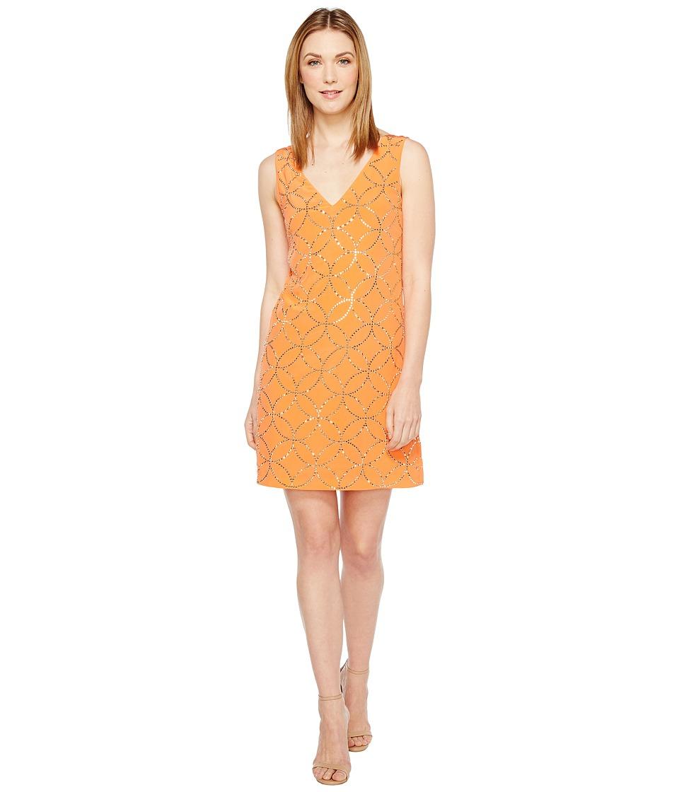Trina Turk Sally Dress (Orange Spritzer) Women