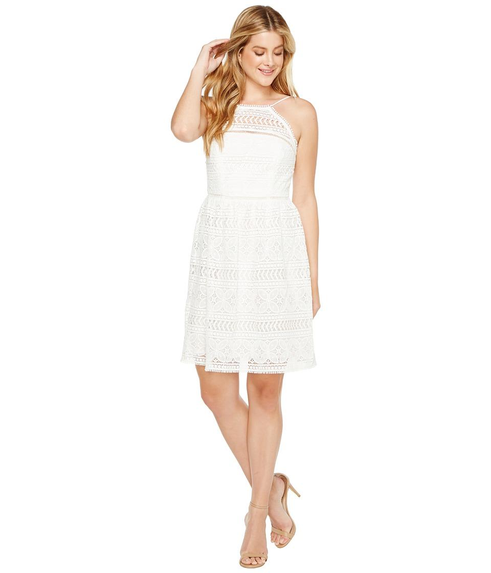 Trina Turk Picnic Dress (White Wash) Women