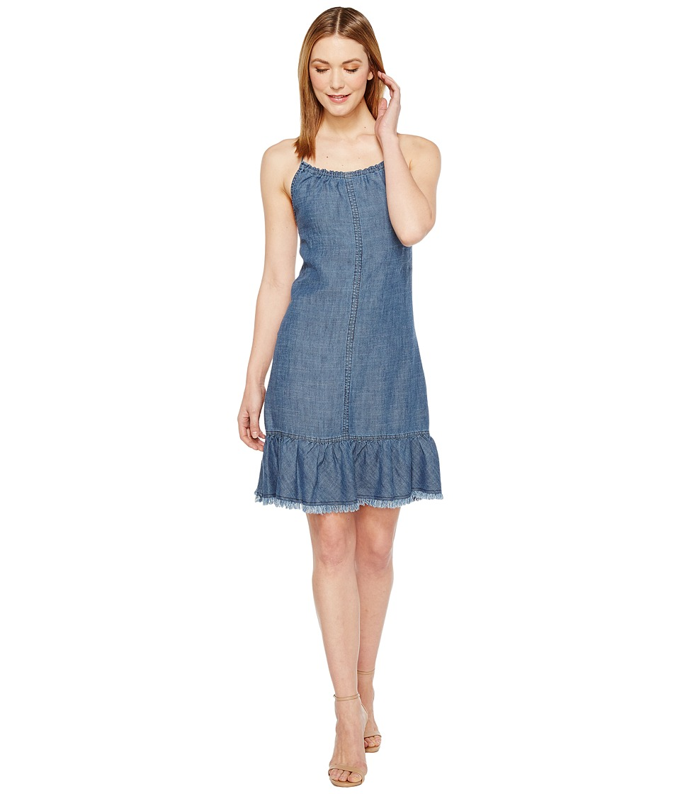 Trina Turk - Softly Dress (Indigo) Women's Dress