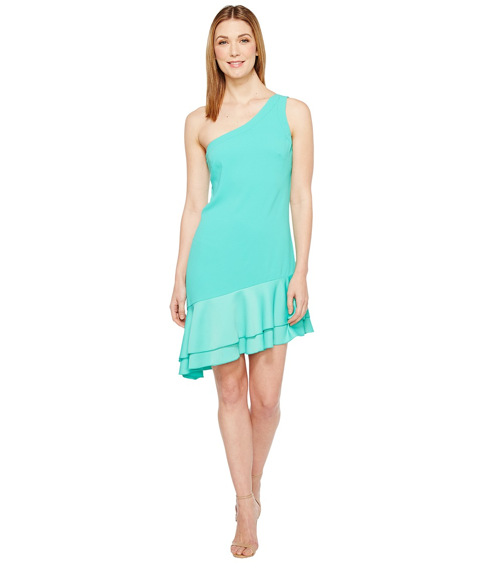 Trina Turk Lunaria Dress (Cabana Teal) Women