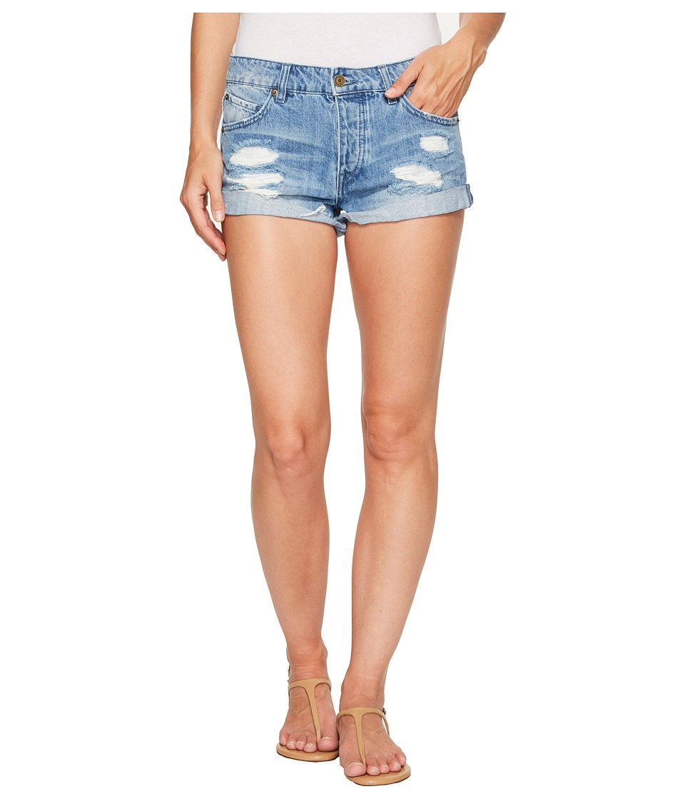 Volcom - Stoned Shorts Rolled (Used Blue) Women's Shorts