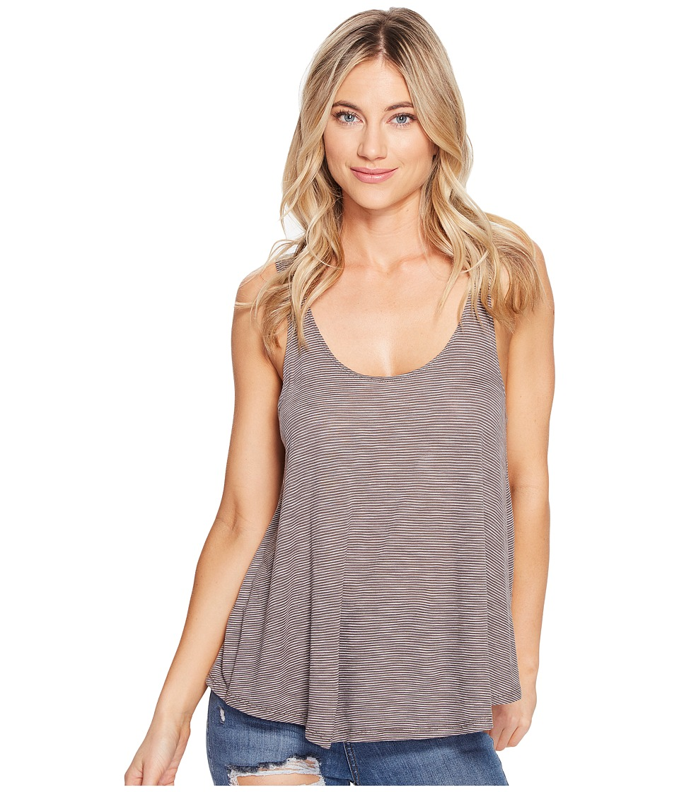 Volcom - You Turn Tank Top (Brown Khaki) Women's Sleeveless