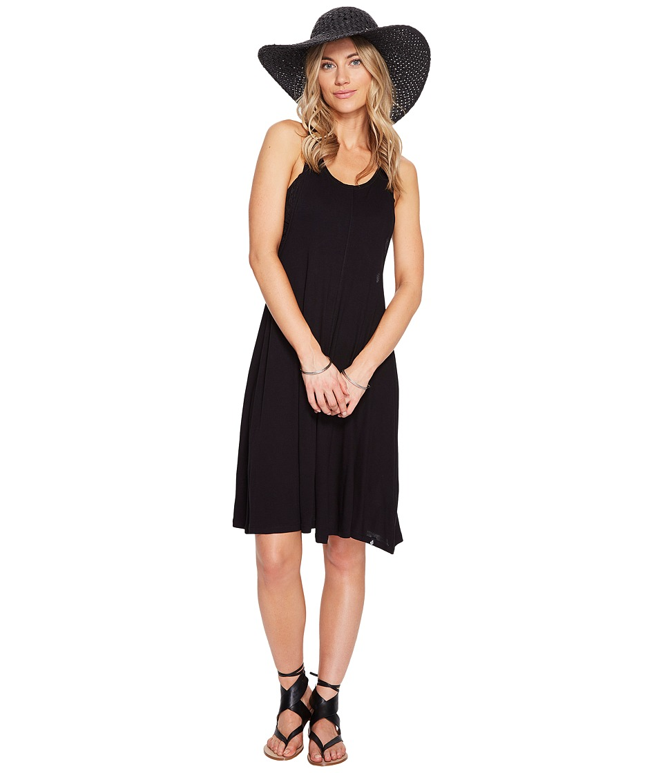 Volcom - Solo Trip Dress (Black) Women's Dress