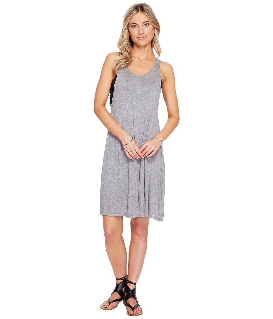Volcom - Solo Trip Dress (Heather Grey) Women's Dress