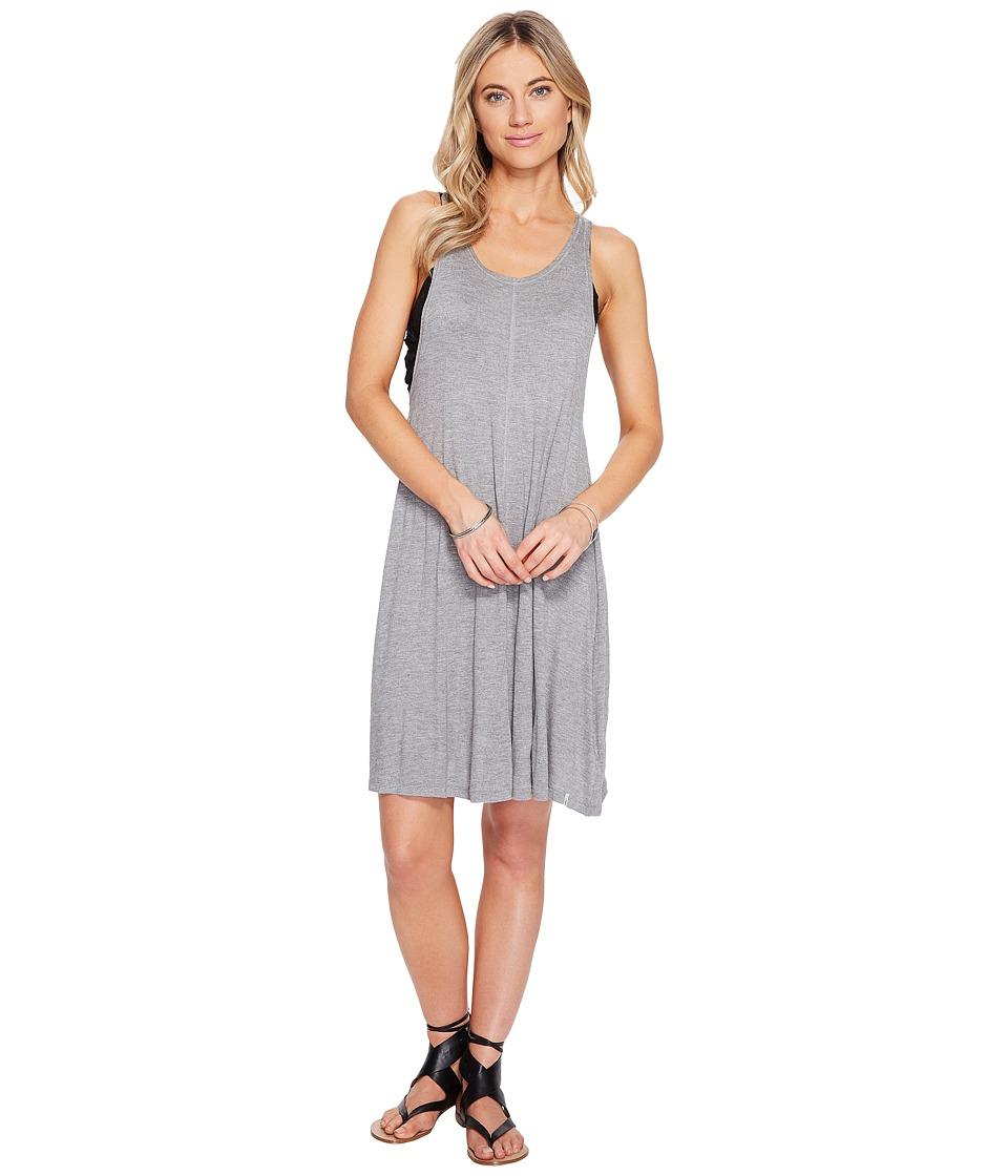 Volcom - Solo Trip Dress (Heather Grey) Women's Dress